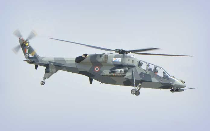 Лучшие ударные вертолеты: HAL LCH