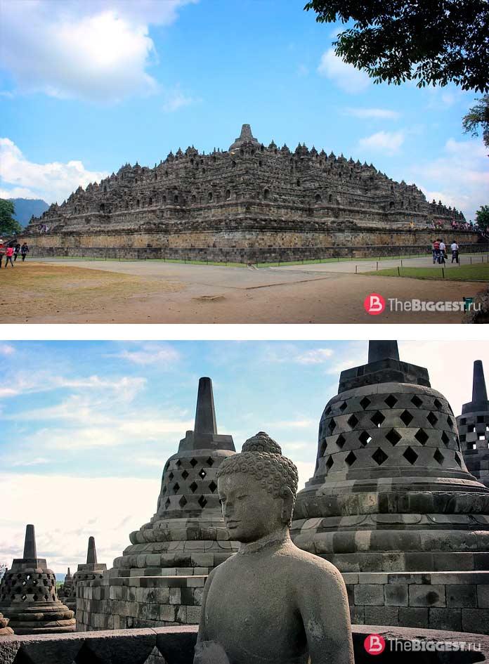 Храм Боробудур в Индонезии. CC0