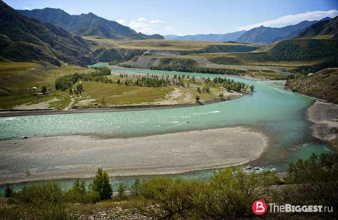 Самые высокие реки: Катунь. CC0