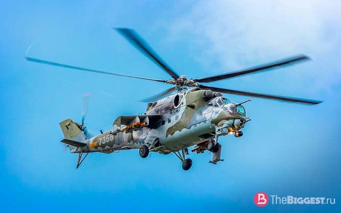Российские ударные выртолеты: Ми-24. СССР. CC0