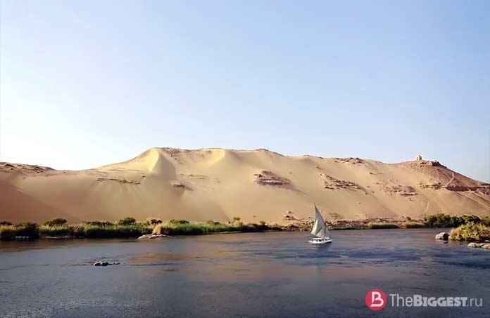 Самые высокие реки: Нил. CC0