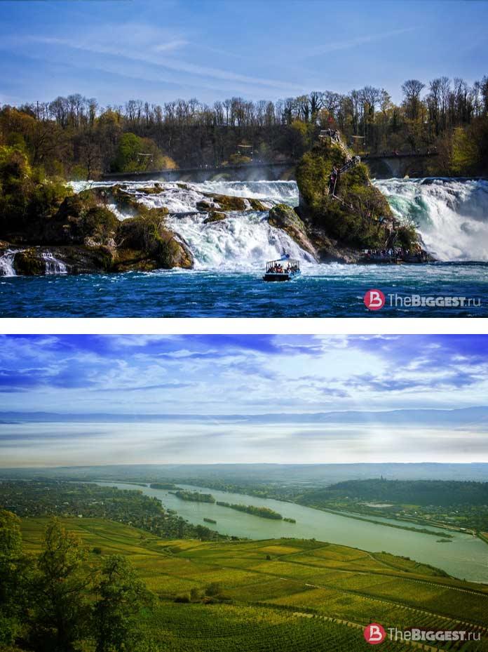 Самые высокие реки: Рейн. CC0