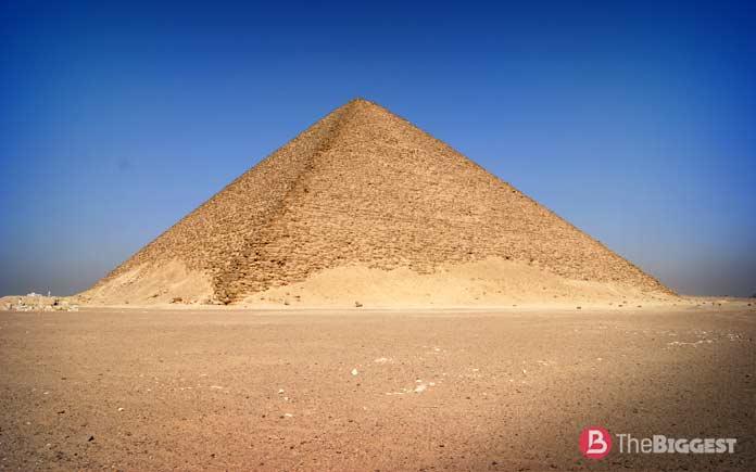 Розовая пирамида. Египет