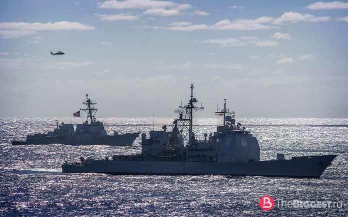 Мощные военные корабли в мире. CC0
