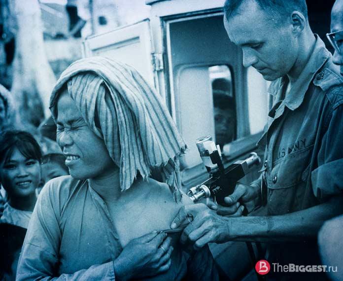 Вакцинация от холеры. CC0