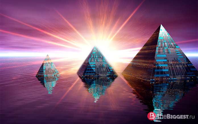 Самые высокие пирамиды