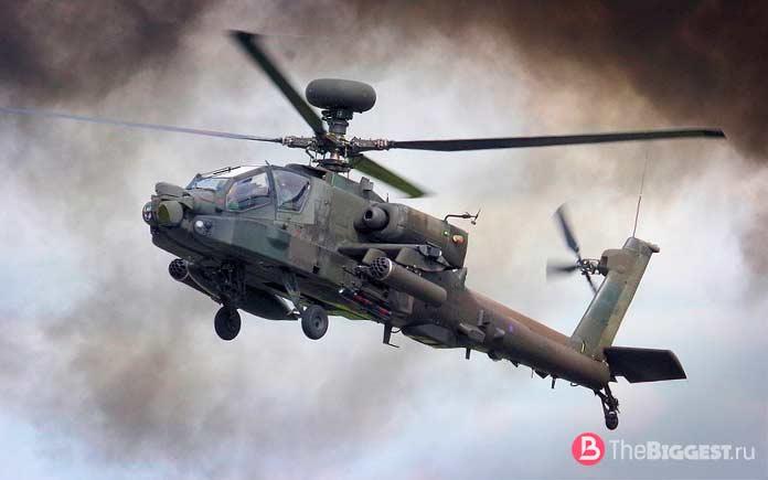 Ударные вертолеты мира: Apache. CC0