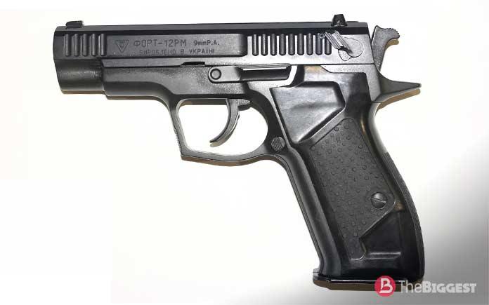 Мощные травматические пистолеты: «Форт-12РМ»
