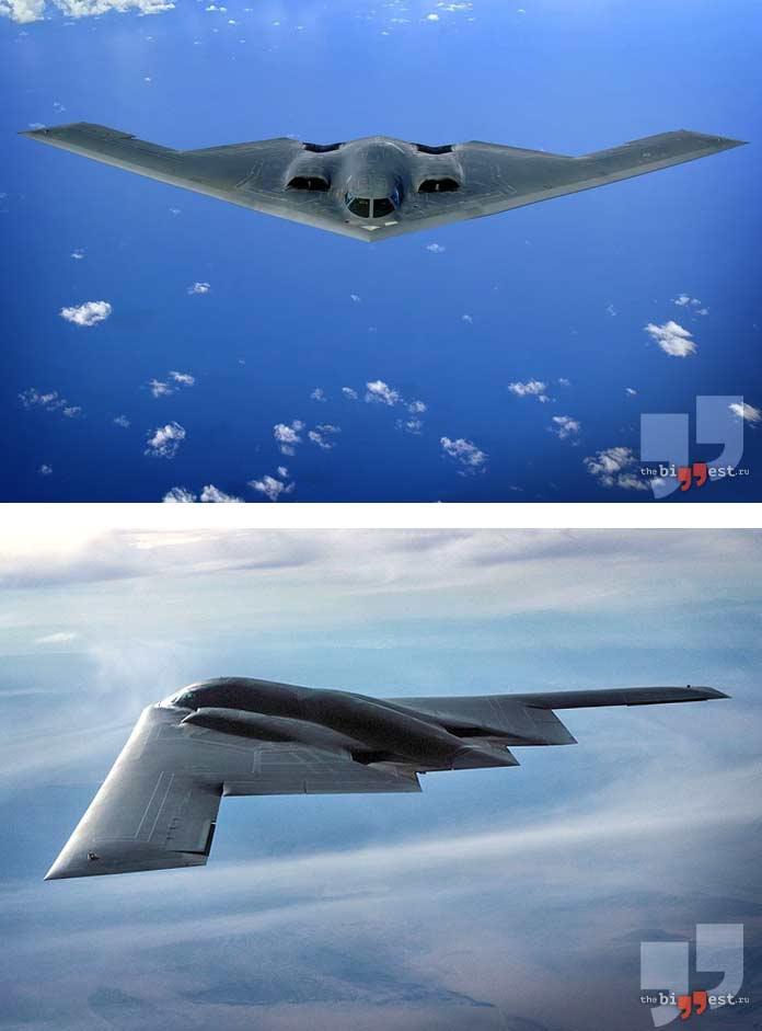 Лучшие бомбардировщики: B-2 Spirit. CC0