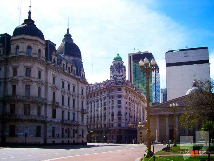 Буэнос-Айрес: Самые крупные столицы мира. CC0