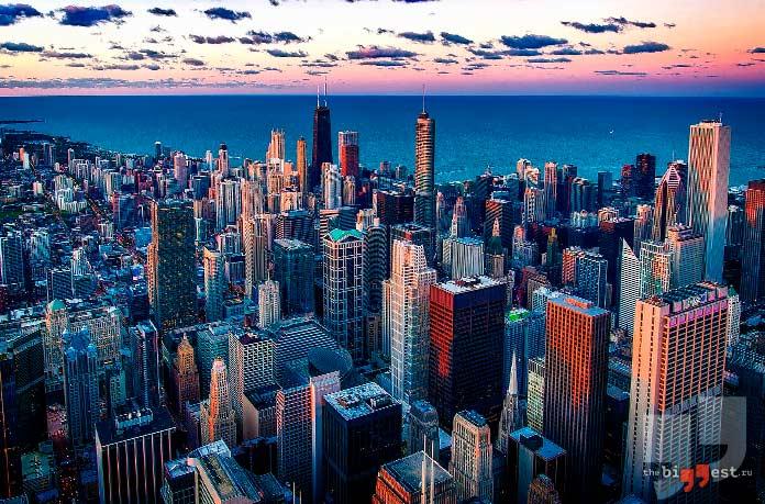 Самые густонаселенные города США: Чикаго. CC0