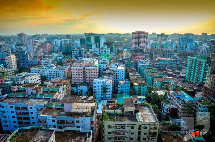 Дакка: Самые большие столицы. CC0