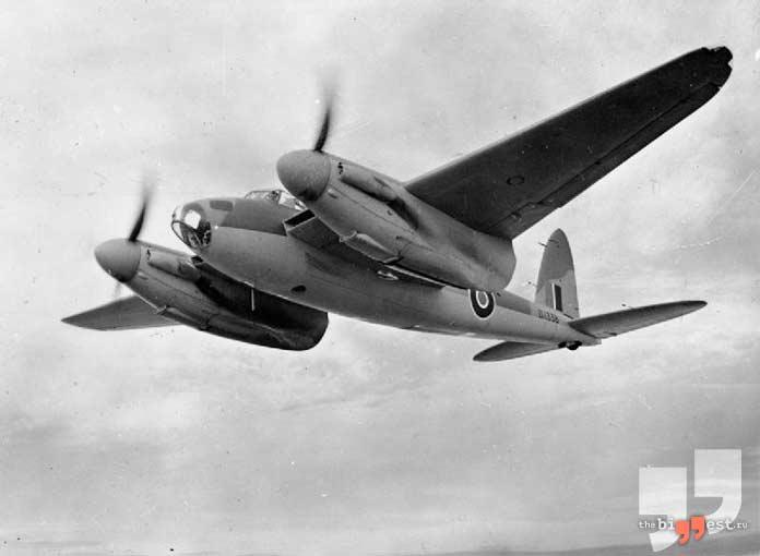 Лучшие бомбардировщики: De Havilland Mosquito. CC0