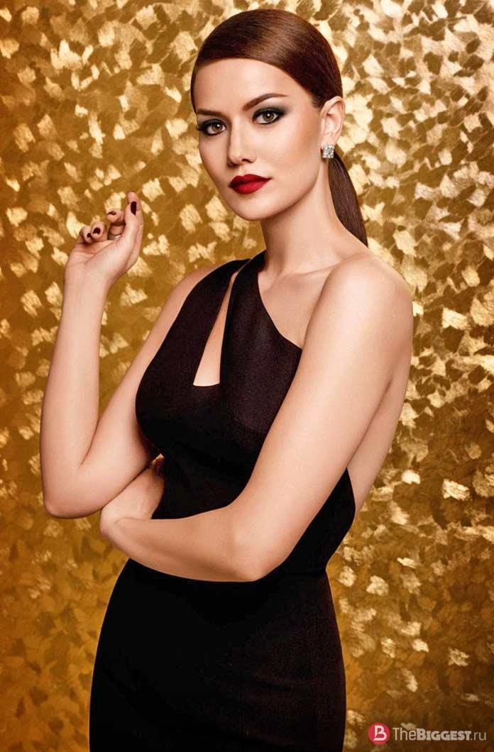 Самые привлекательные актрисы: Фахрие Эвджен