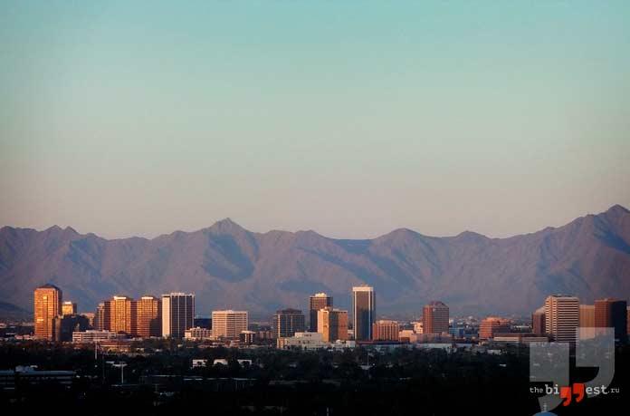 Самые крупные города США: Финикс. CC0