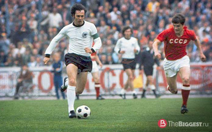 Знаменитые футболисты в истории: Беккенбауэр