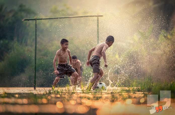 Будущие великие футболисты. CC0