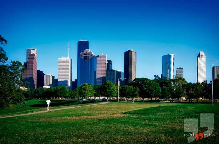Очень крупные города США: Хьюстон. CC0
