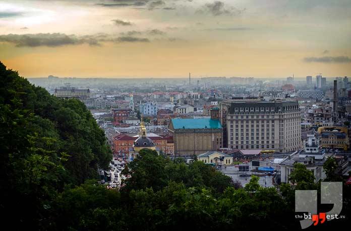 Самые крупные города Украины: Киев. CC0