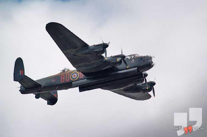 Лучшие бомбардировщики: Ланкастер. CC0