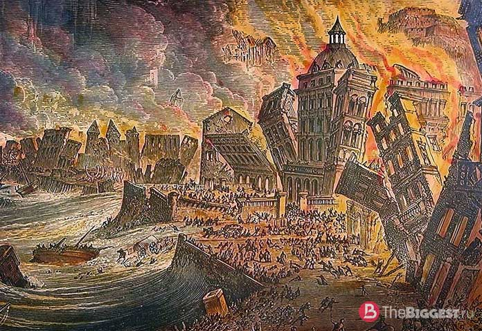 the lisbon earthquake The 1755 lisbon earthquake took place on november 1, 1755, at 9:20 in the morning it was one of the most destructive and deadly earthquakes in history, killing well over 100,000 people.