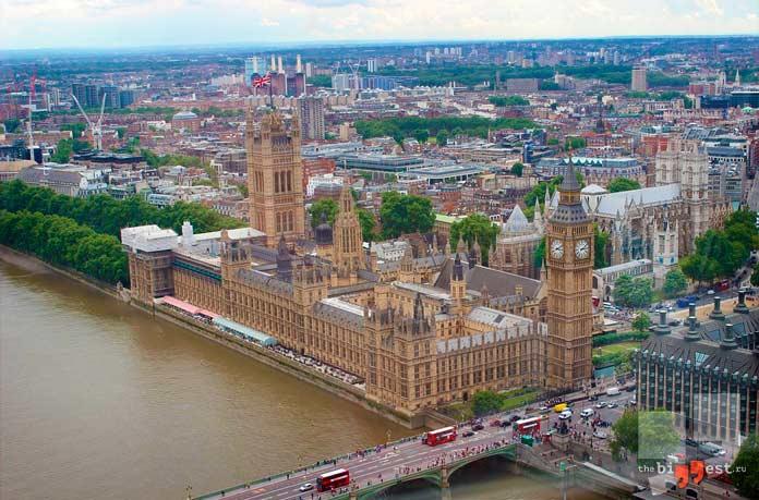 Лондон: самые большие столицы. CC0