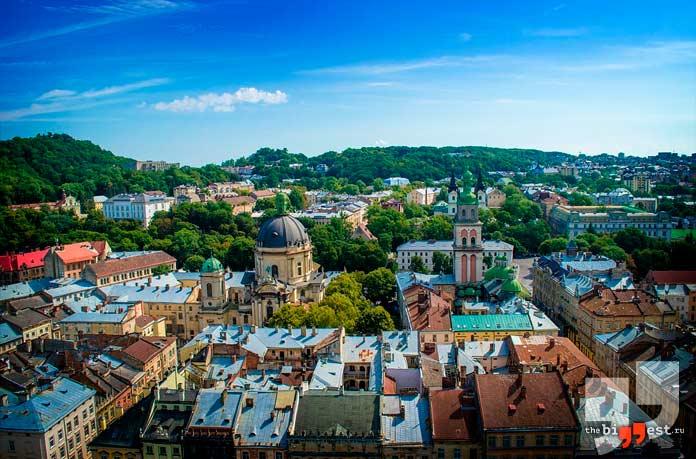 Самые большие города Украины: Львов. CC0