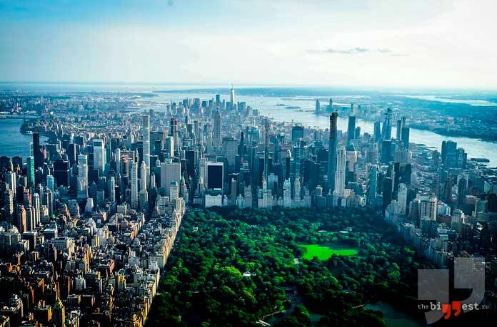 Самые крупные города США: New-York. CC0