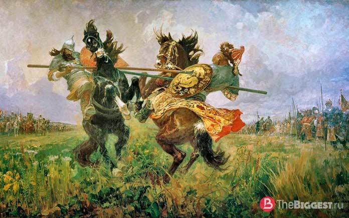 Самые крупные победы русской армии