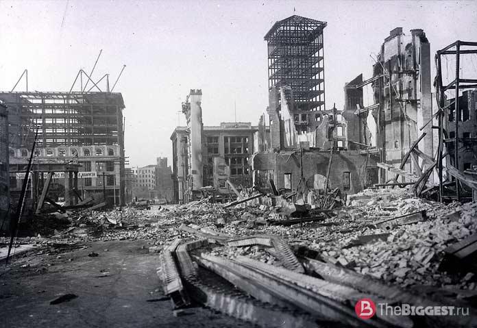 Разрушения в Сан-Франциско