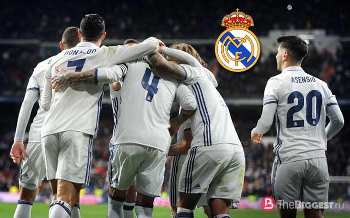 Реал - один из лучших футбольных клубов мира