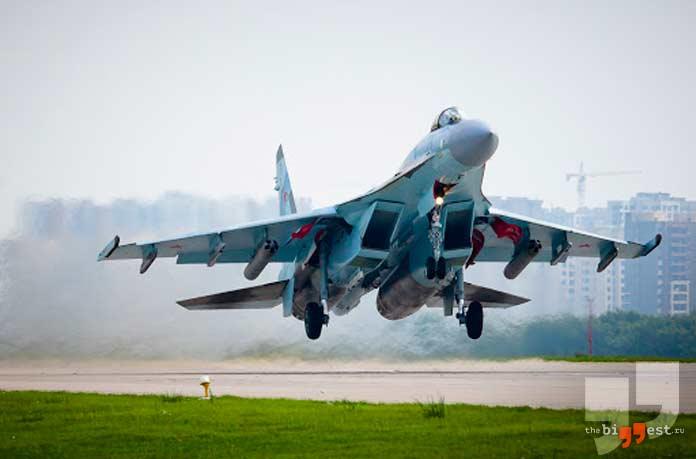 лучшие военные самолёты: Су-35. CC0