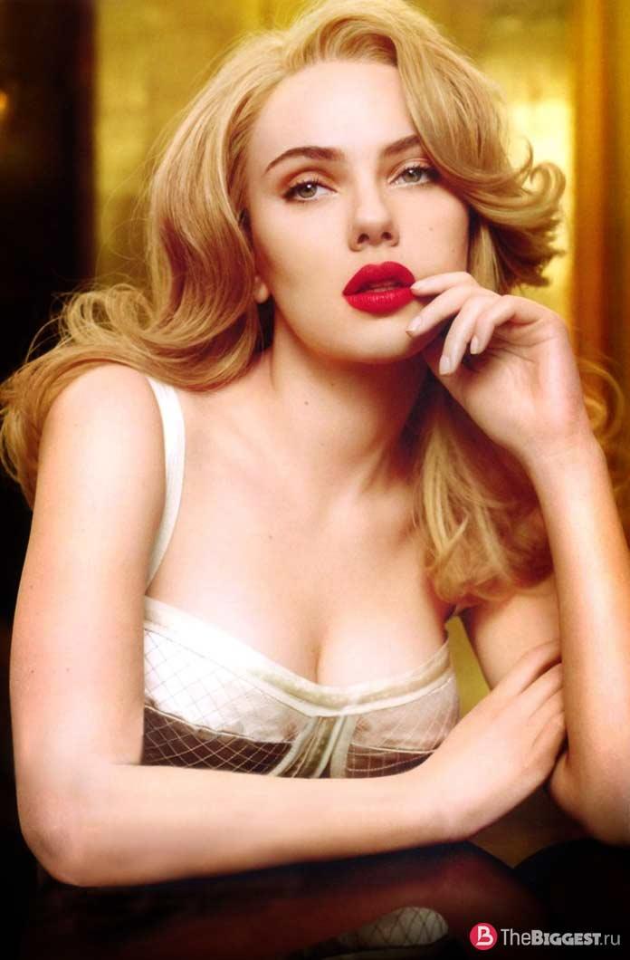 Самые знаменитые актрисы: Скарлетт