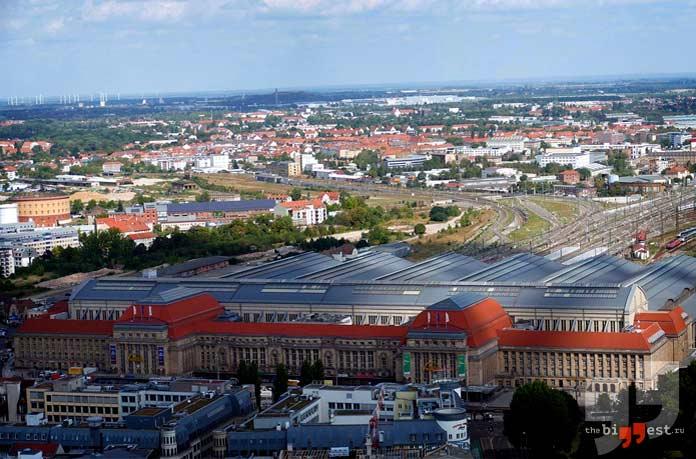 Центральный вокзал Лейпцига