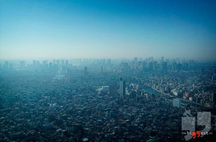 Токио с высоты птичьего полёта. CC0