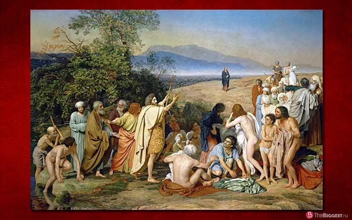 Самые большие картины: Явление Христа народу