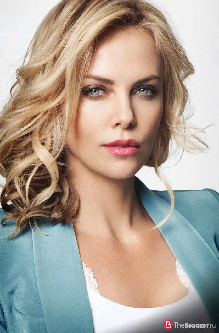 Самые красивые актрисы: Терон