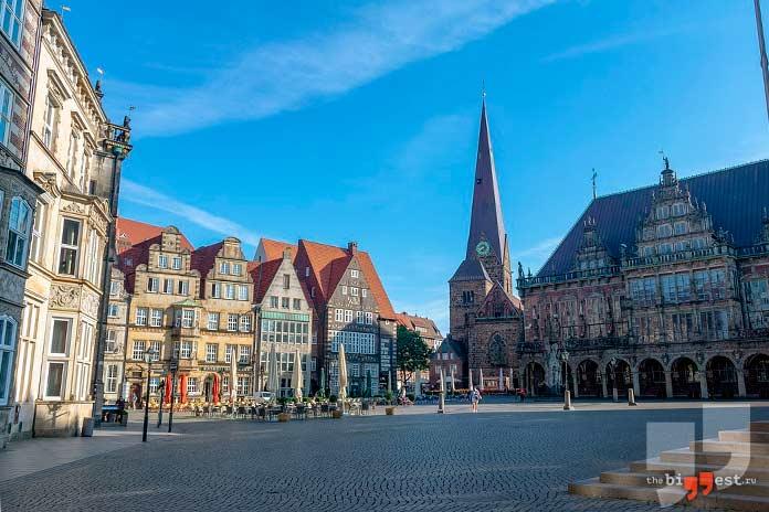 Самые крупные города Германии: Бремен. CC0