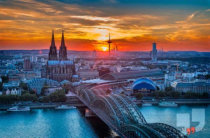 Самые большие города Германии: Кёльн. CC0
