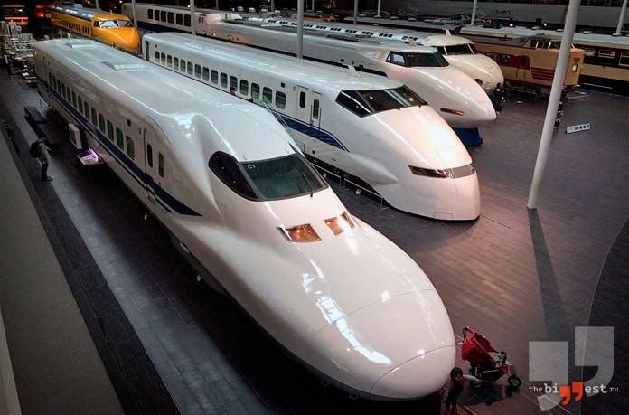 Самые быстрыяе поезда в мире. CC0
