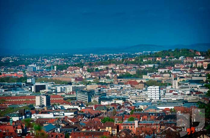 Самые крупные города Германии: Штутгарт. CC0