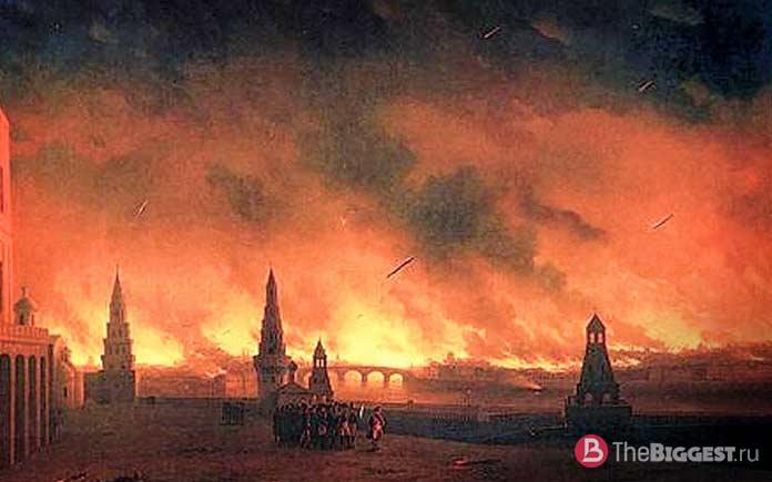 Сожжение Москвы