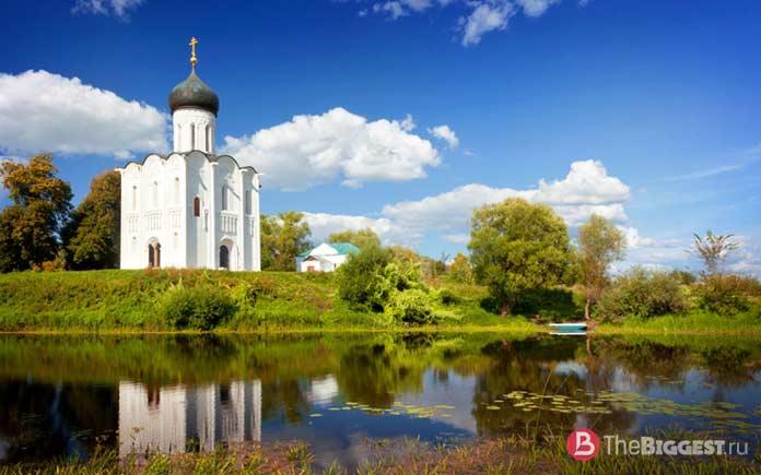 Древние православные храмы: Церковь Покрова на Нерли