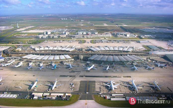 Крупнейшие аэропорты мира: Аэропорт Шарля-де-Голля