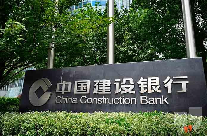 Самые большие банки: China Construction Bank Corporation. CC0