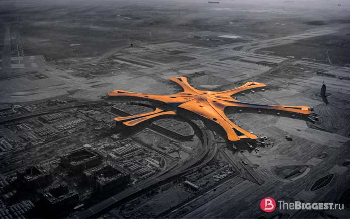 Дасин - самый большой аэропорт в мире