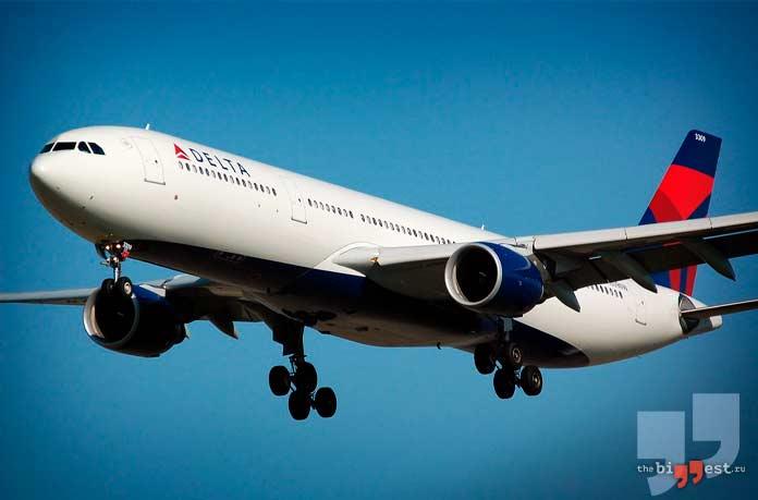 Самые большие авиакомпании в мире: Delta Airlines. CC0