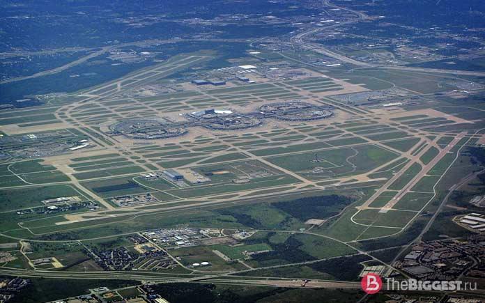 Крупнейшие аэропорты мира: Dfw airport