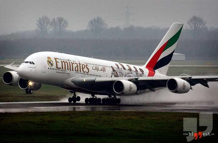 Самые большие авиакомпании в мире: Emirates. CC0
