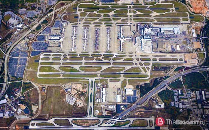 Хартсфилд-Джексон - самый большой аэропорт Америки